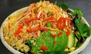 Spicy Krab Salad Bowl 1500x900